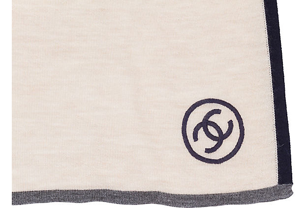 Chanel Cashmere Pocket Scarf