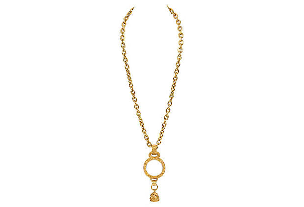 Chanel Florentine Magnifier Necklace