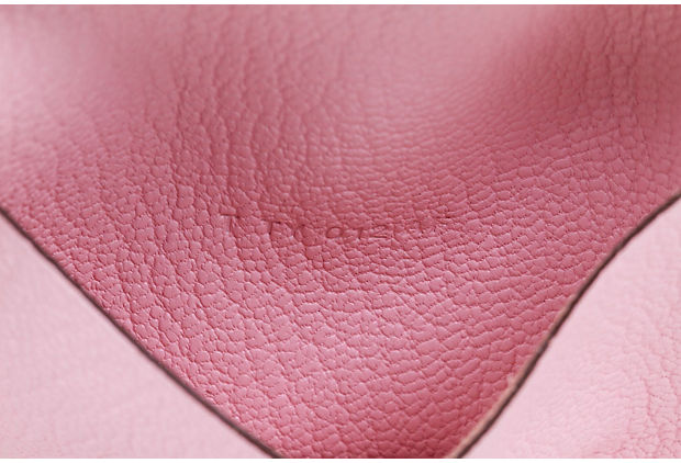 Hermès Small Pink Chevre Phone Book