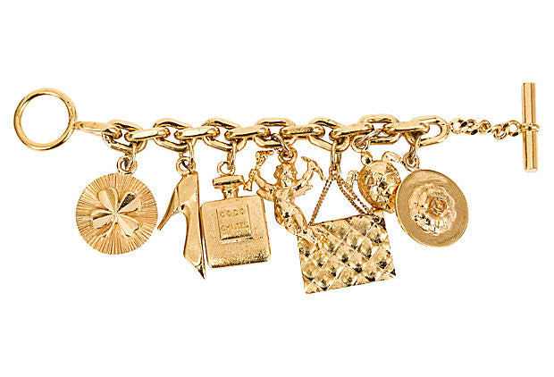 1970s Chanel Icons Charm Bracelet - Chanel - Vintage Lux