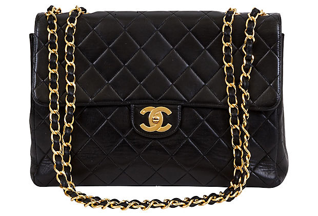 Chanel Black Jumbo Flap Bag