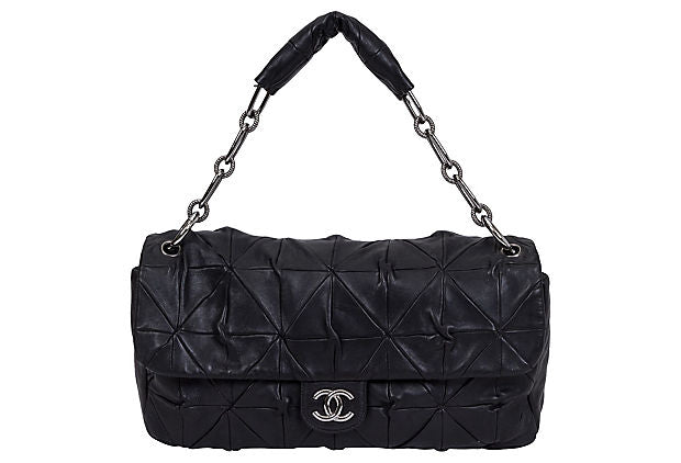 Chanel Maxi Black Origami Flap Bag