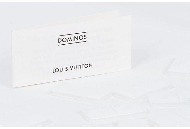 Louis Vuitton VIP Lucite Domino Set