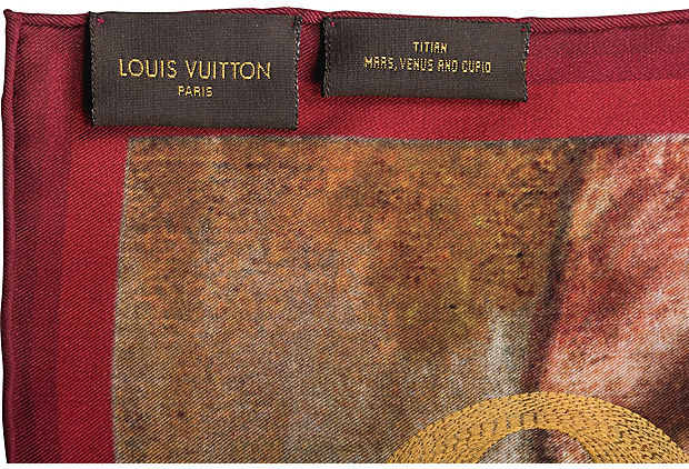 Louis Vuitton Masters Titian Scarf