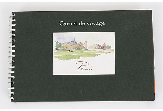 Vuitton carnet De Voyage Paris