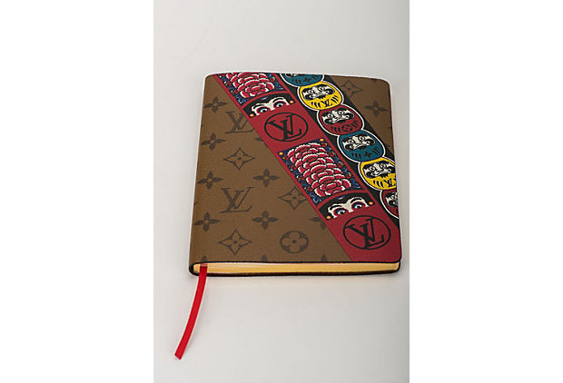 Vuitton Kabuki Stickers Notebook New