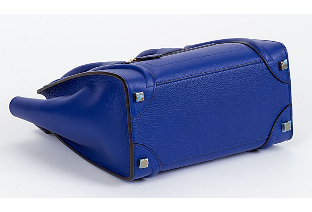 Celine New Indigo Micro Luggage Bag