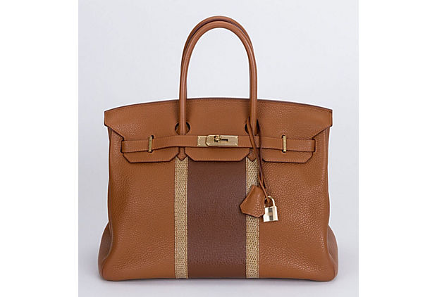 Hermes Birkin 35 Club Gold & Marron