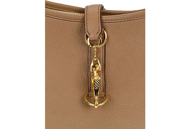 Hermès Light Brown Trim Shoulder Bag