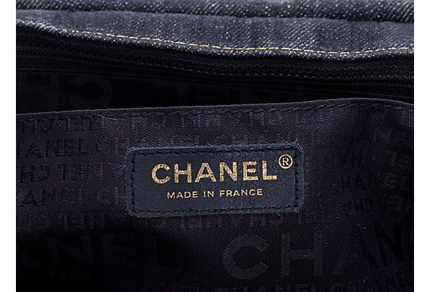 Chanel Dark Denim Jumbo Shoulder Bag