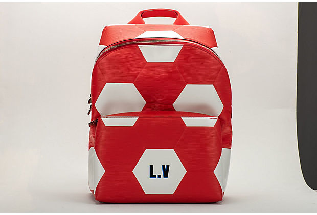 Vuitton FIFA 2018 Sold Out Red Backpack