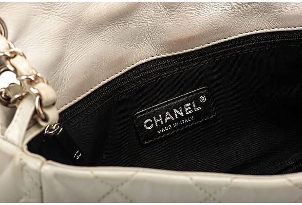 Chanel Ice White Evening Bag