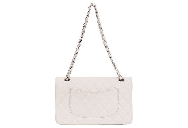 Chanel Beige Caviar Double-Flap Bag