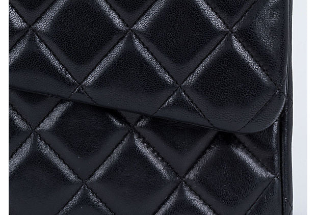 Chanel Black Maxi Single Classic Flap