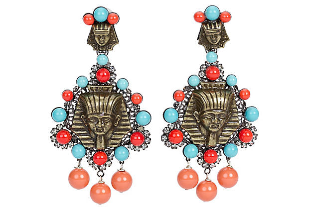 Vrba Egyptian Earrings