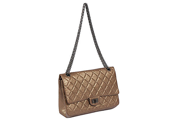 Chanel Medium Bronze Reissue Double Flap