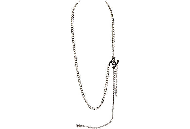 Chanel Silver Belt/Necklace