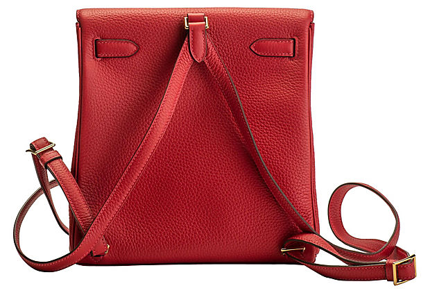 Hermès Rouge Kelly a Dos Backpack