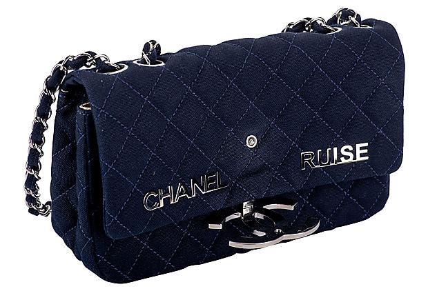 Chanel Navy Cruise Flap Bag