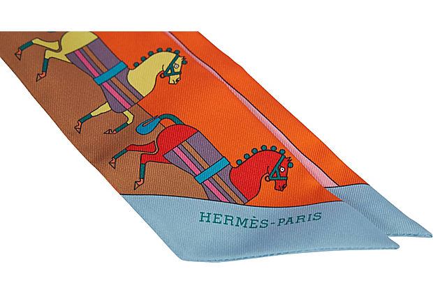Hermes Orange Dressage Horses Twilly