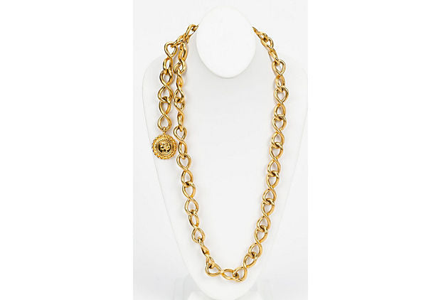 Chanel Thick Chain Single Belt/Necklace