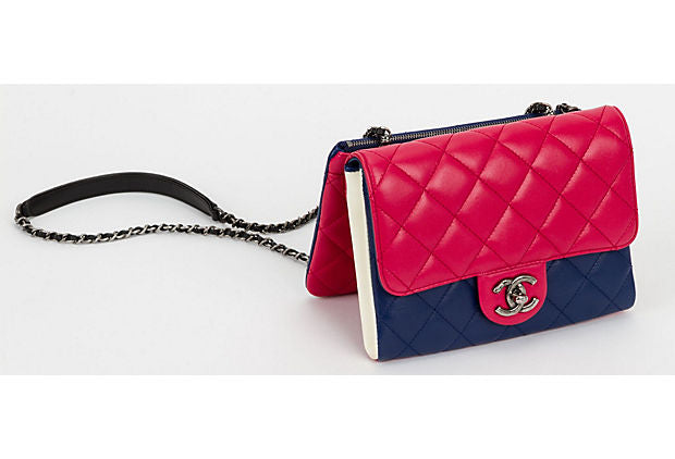 Chanel 4 Color Cross Body Detachable Bag