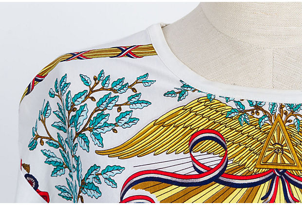 Hermes Fraternite' 1789 Cotton Tshirt