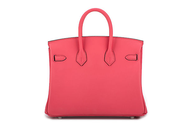 Hermès Rare Birkin 25 Rose Azalee Swift