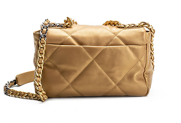 Chanel Brand New Gold 19 Bag Rare