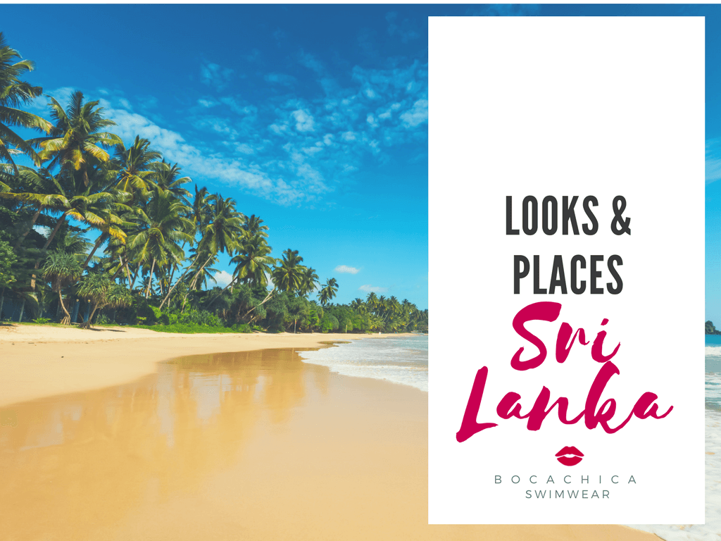 Bocachica Swimwear: Looks & Places, Sri Lanka.