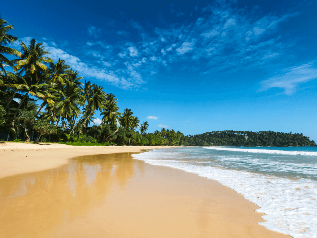Exotic fantastic beach in sri lanka great scapes for vacations