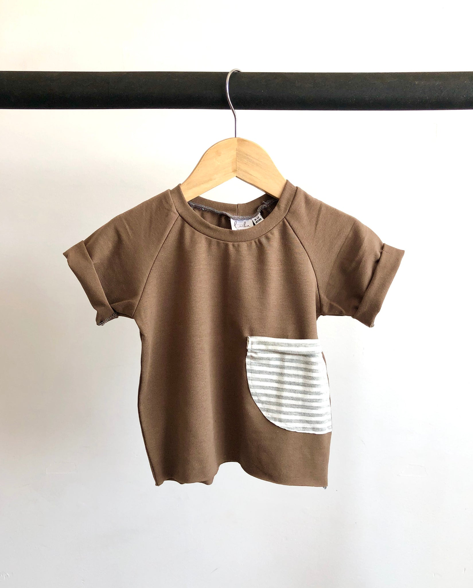 Pocket tee/ Chocolate