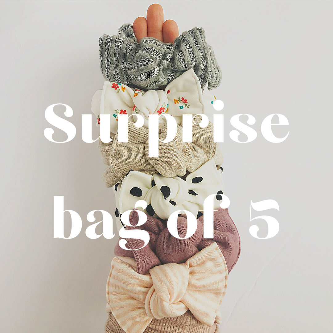 Surprise bag - Tie on headwraps