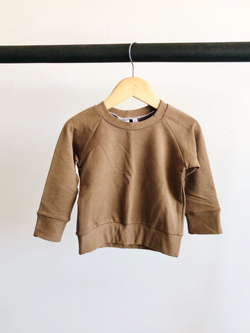 Chocolate bamboo sweatshirt