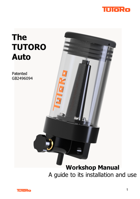 Workshop Manual - TUTORO Auto