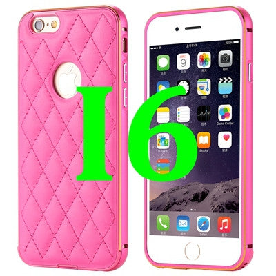 Fashion Frame Leather Case For iPhone 6 Plus 5.5 / For iPhone 6 4.7 ...