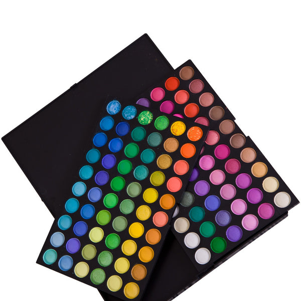 Pro 120 Full Colors Eyeshadow Cosmetics Mineral Make Up Palette Kit