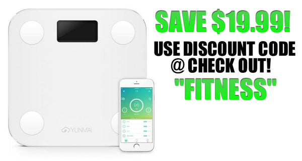 "NEW Blue Tooth Smart  Scale! - ""FITNESS = 20% OFF!"""