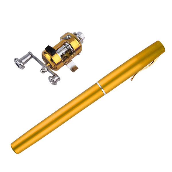 NEW! Pen Shaped Portable Pocket Mini Fishing Pole