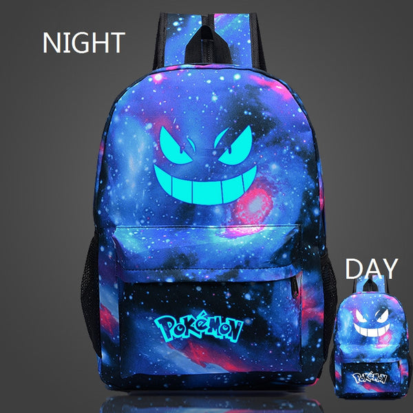 Luminous Galaxy Pokémon Gengar Backpack - FREE SHIPPING