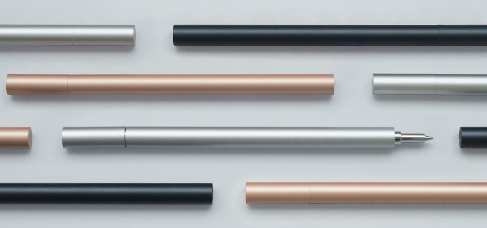 ten stationery pens