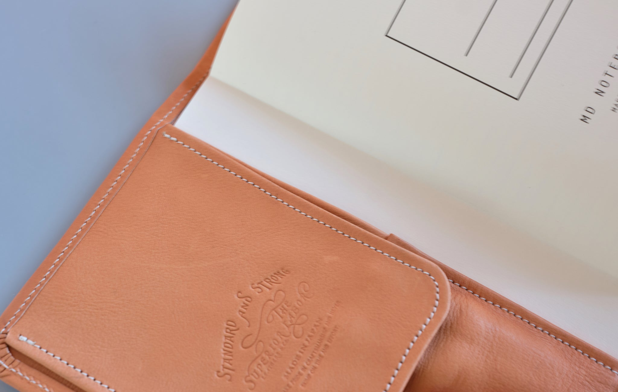 THE SUPERIOR LABOR X NOMADO STORE A5 LEATHER WRITER'S ORGANIZER