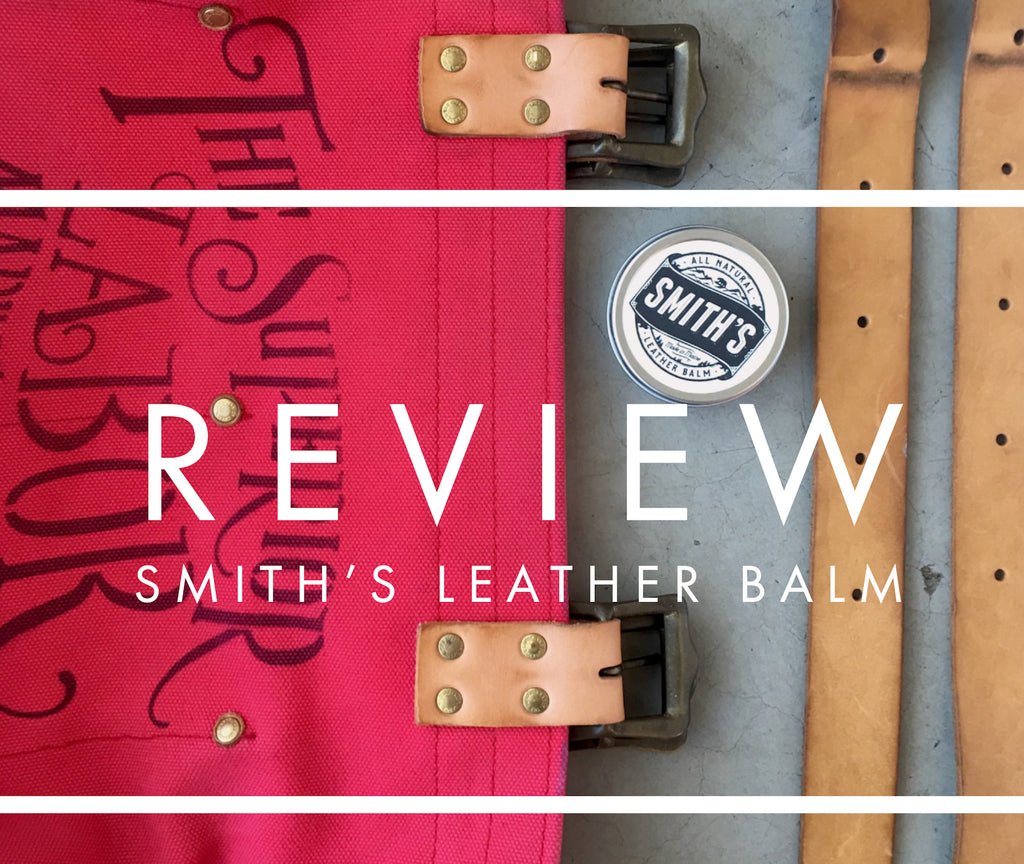 review: smith's leather balm