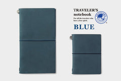Blue Travelers Notebooks