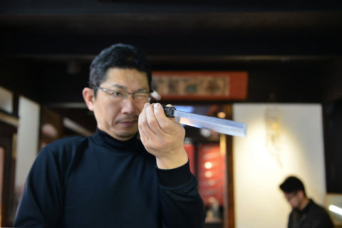 jaoanese knife making