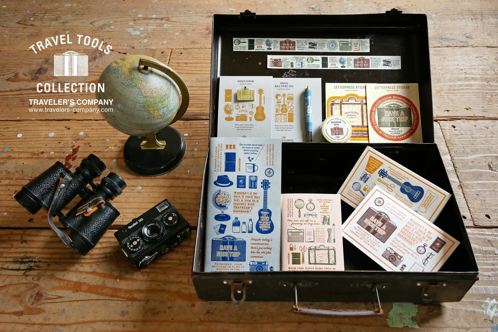 traveler's company ltd edition travel tools collection