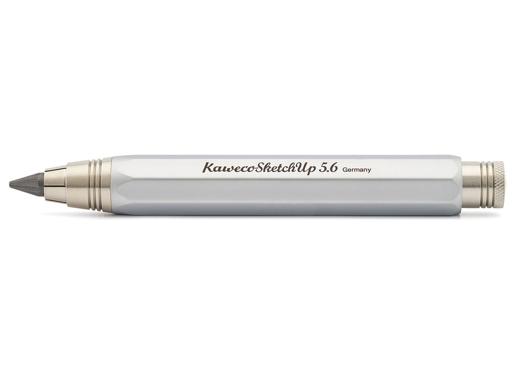 Kaweco sketch up 8 - shape satin chrome clutch pencil - NOMADO Store