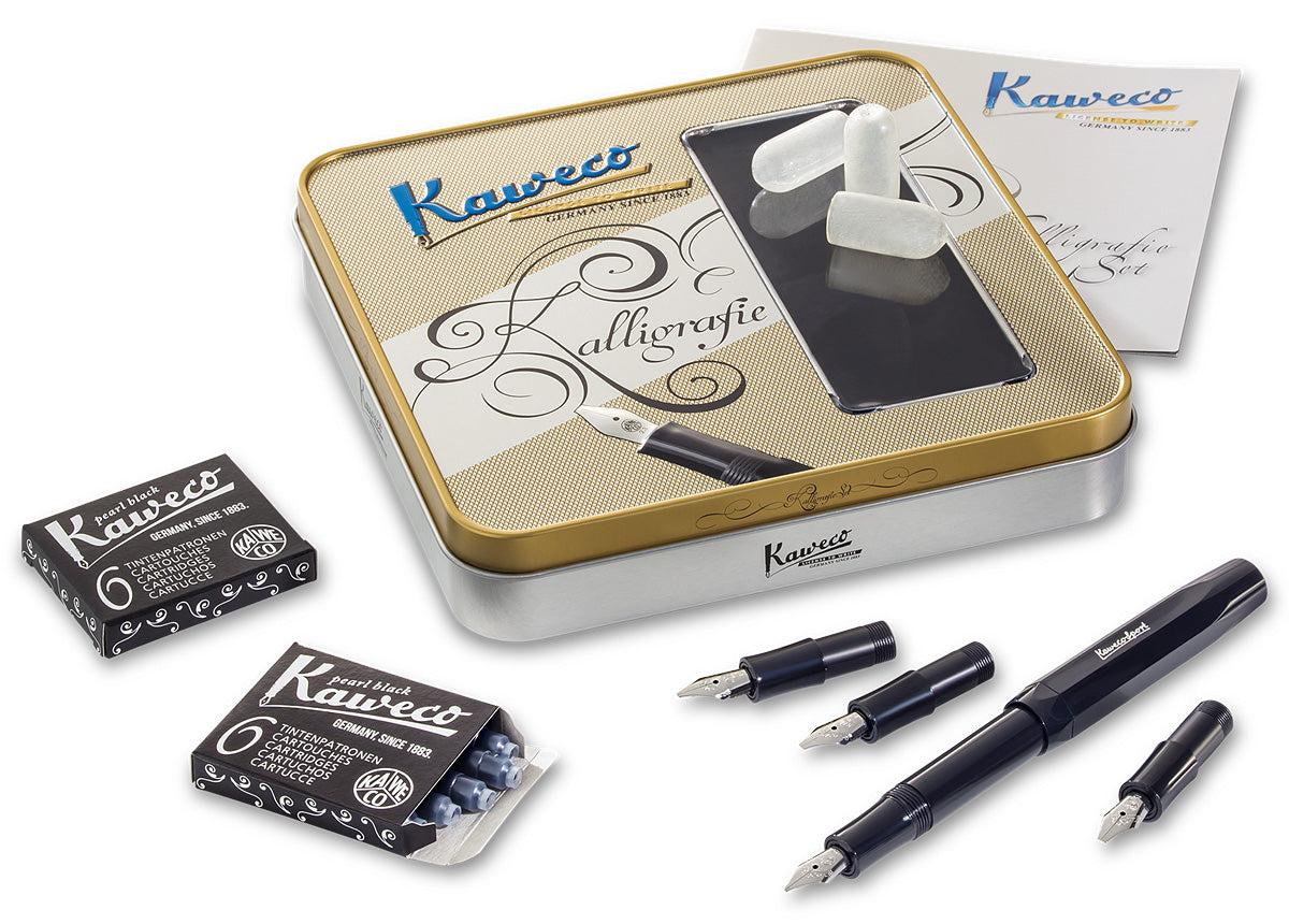 Kaweco CALLIGRAPHY Set Black or Coconut - NOMADO Store