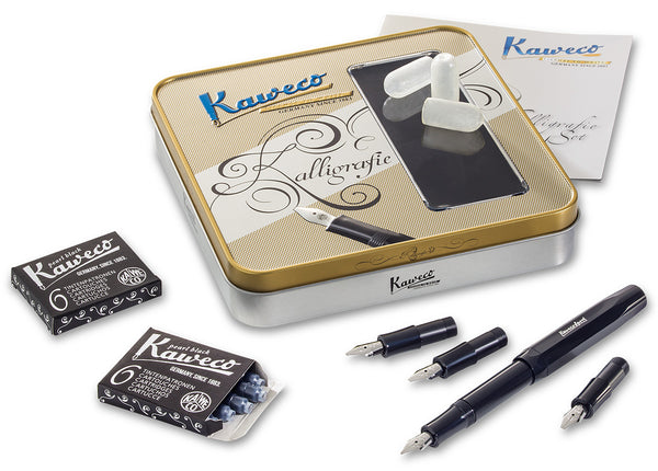 Kaweco CALLIGRAPHY Set Black or White - NOMADO Store