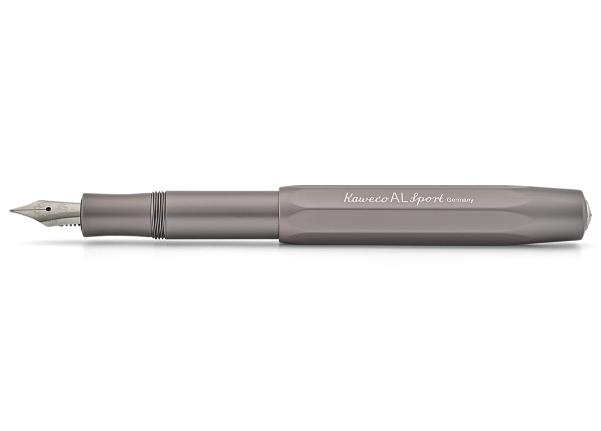 Kaweco Alu Sport grey fountain pen - NOMADO Store